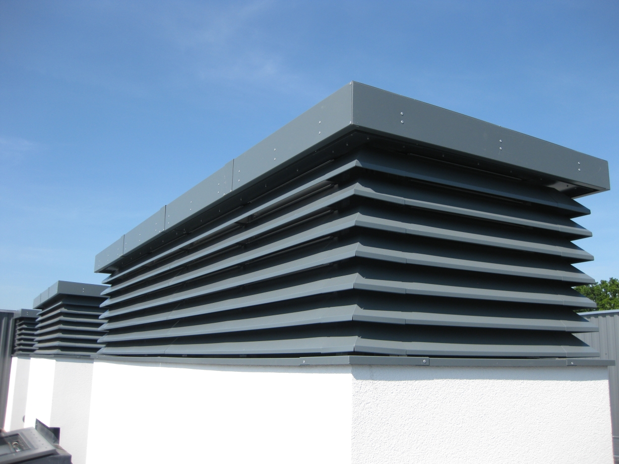 Commercial & Industrial Louvres #2A68A1