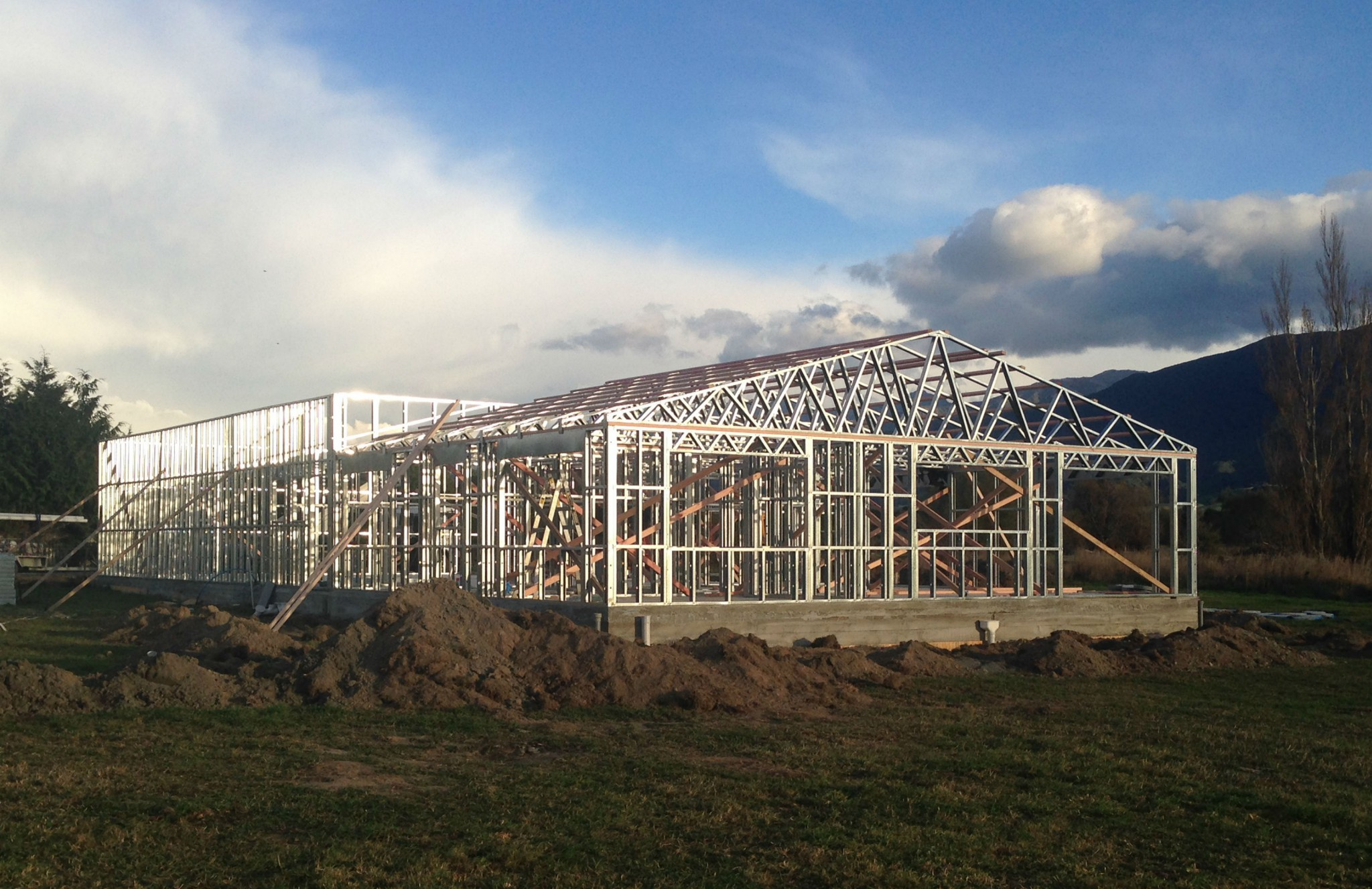 Steel Framing Contour Nelson Amp Blenheim