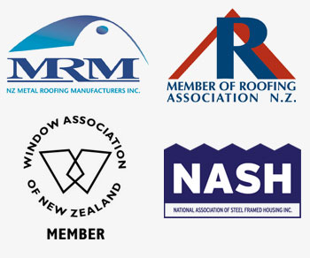 New Zealand Metal Roofing Manufacturers Association Roofing Association of New Zealand Window Association of New Zealand National Association of Steel Framed Housing